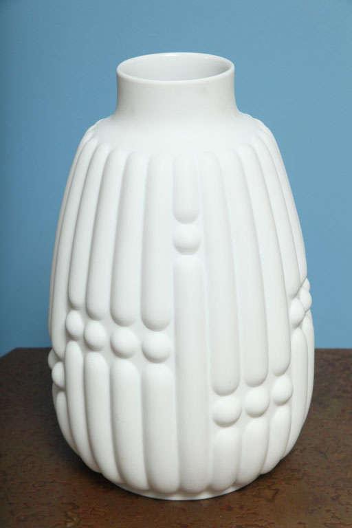 hutschenreuther porcelain vase at 1stdibs. Black Bedroom Furniture Sets. Home Design Ideas