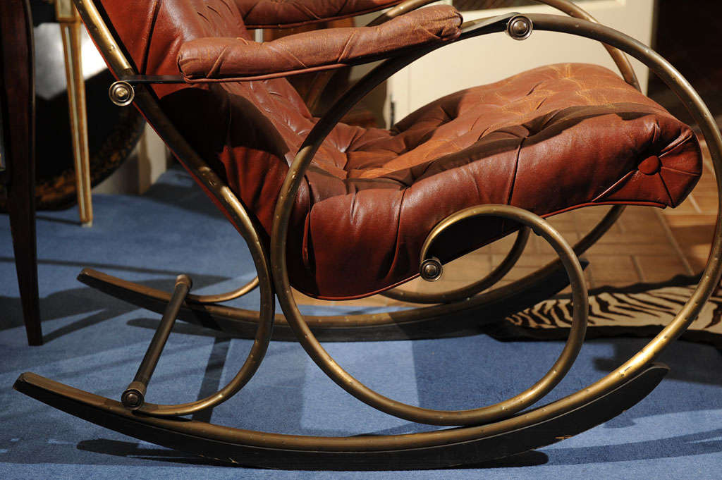"19th C. ""Innovative""   American  Rocking Chair image 5"