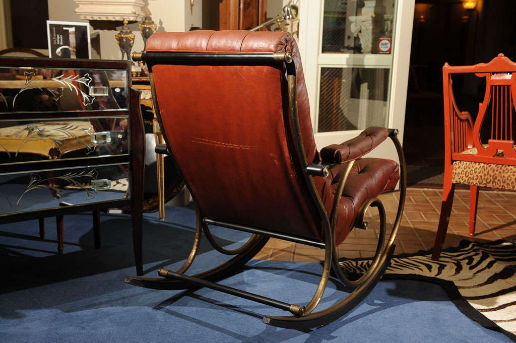 "19th C. ""Innovative""   American  Rocking Chair image 8"