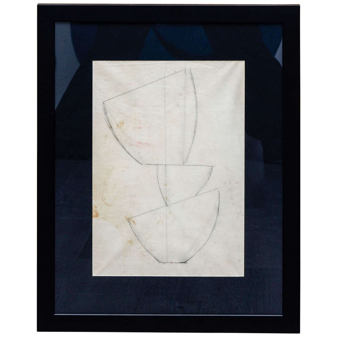 Jean Hans Arp, Pencil Drawing