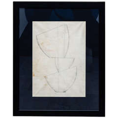 Jean Hans Arp, Pencil Drawing