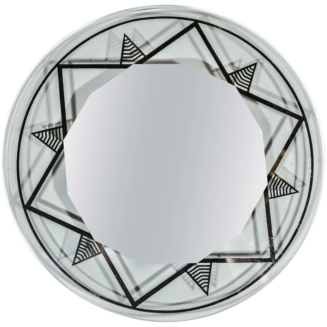 20th Century French Deco Mirrored Tray Circa 1920 At 1stdibs