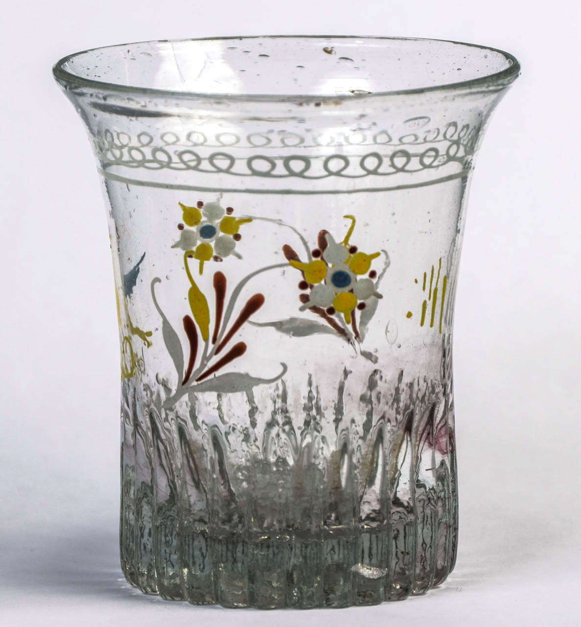 circa 1800 french normandy wedding glass for sale at 1stdibs