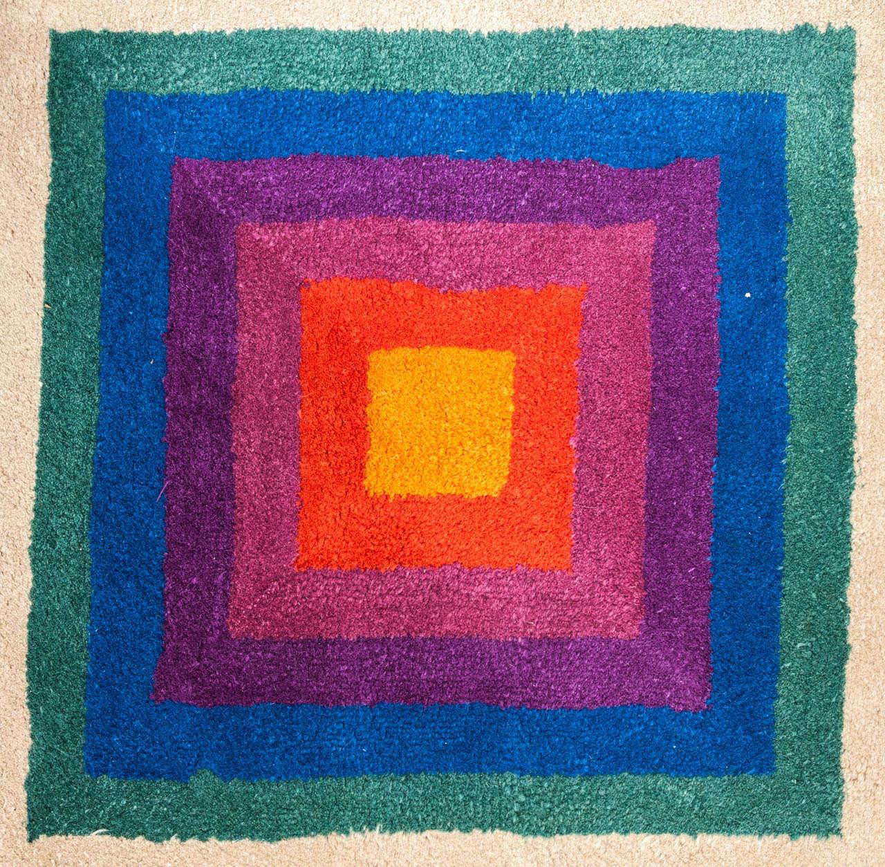 Verner Panton Quot Op Art Quot Carpet At 1stdibs