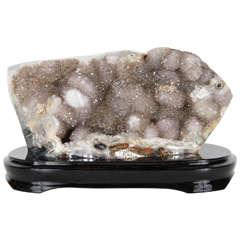 Organic Geode Crystal Rock Specimen