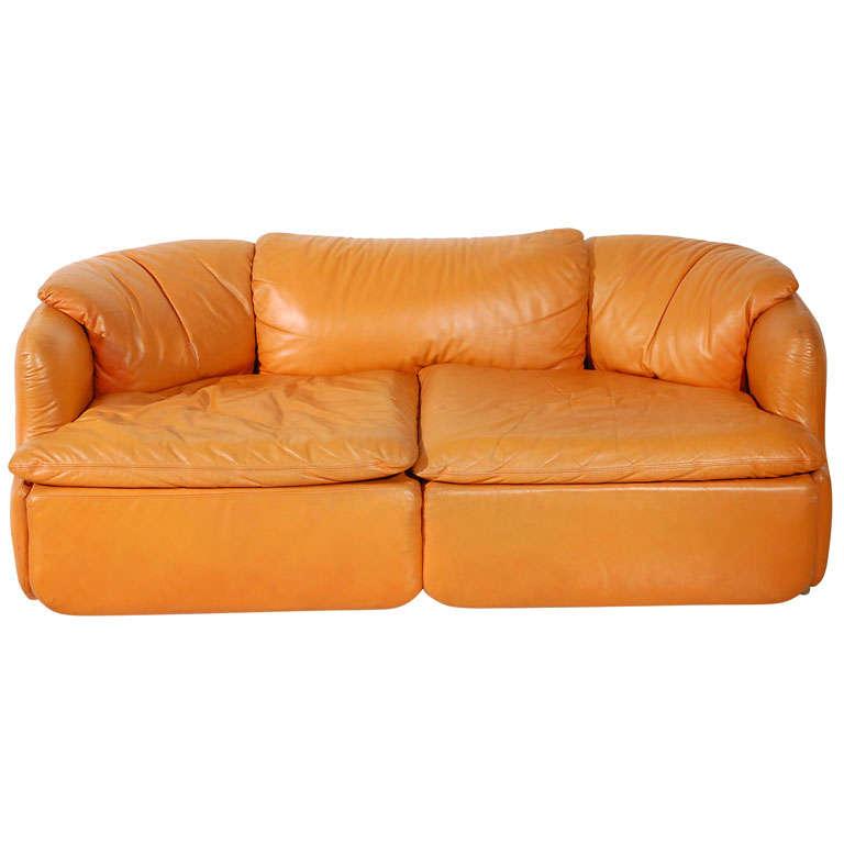 """Saporiti """"Confidential"""" Sofa By Alberto Roselli"""