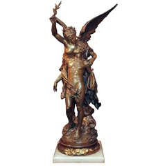 Antique French Original Bronze Casting
