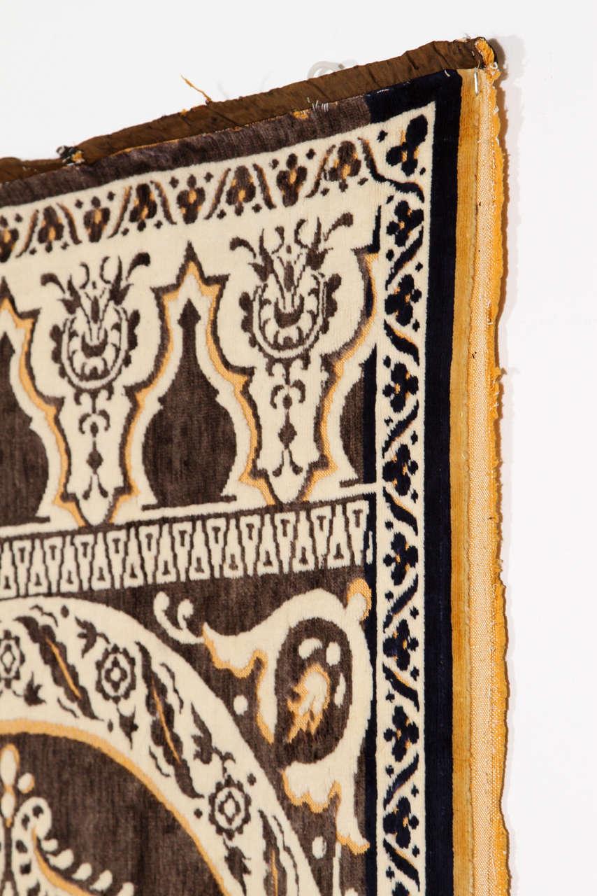 Antique Moroccan Moorish Silk Tapestry At 1stdibs