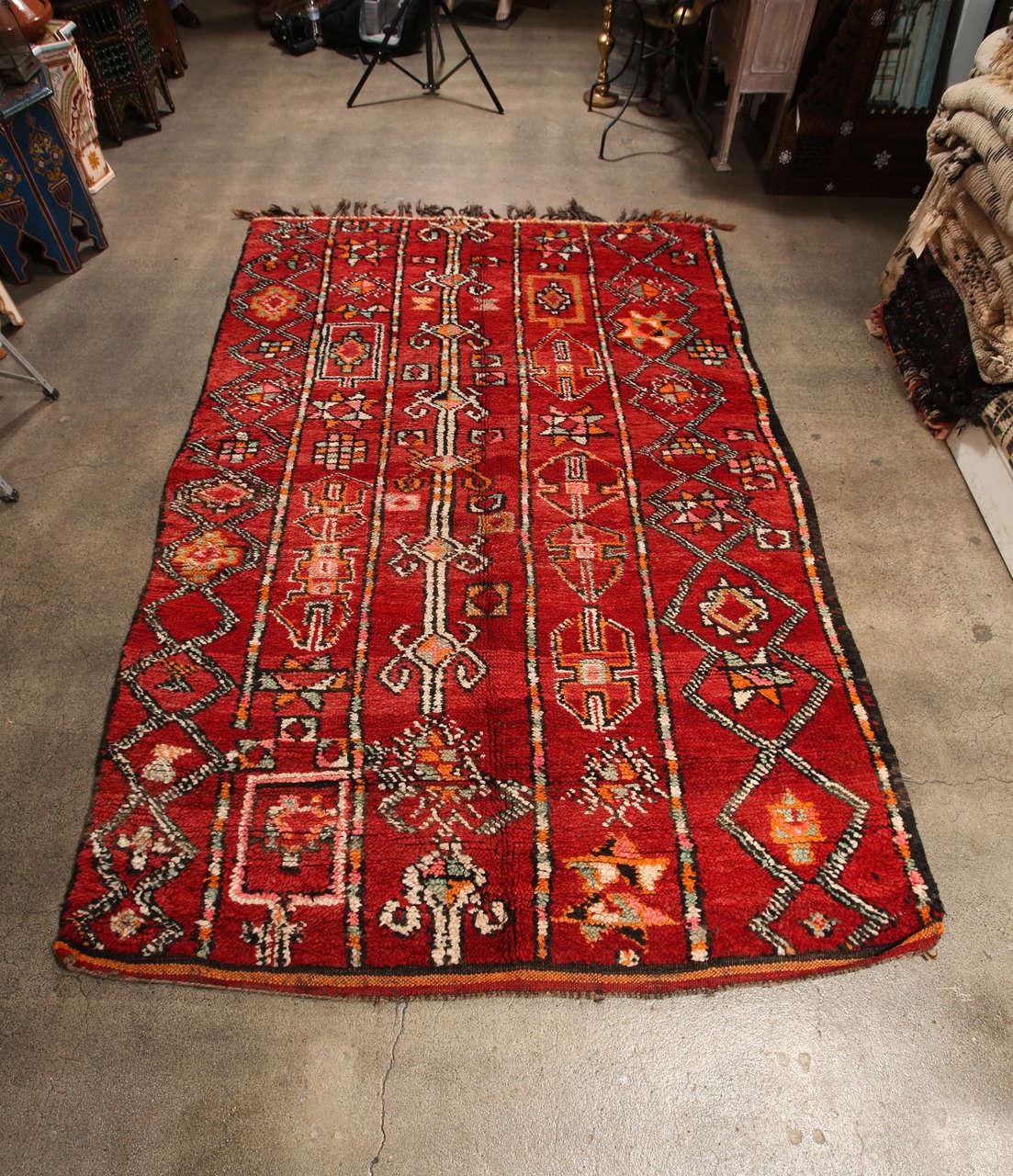 Vintage Moroccan Rug, At 1stdibs