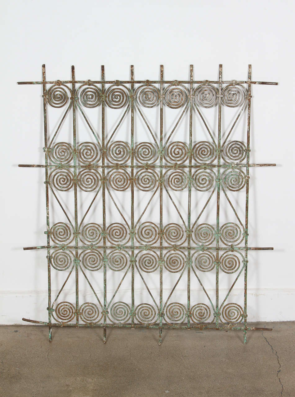 decorative window grilles art deco traditional antique moroccan window grille moorish designs hand forged wrought iron screen window no antique wrought iron window grille at 1stdibs