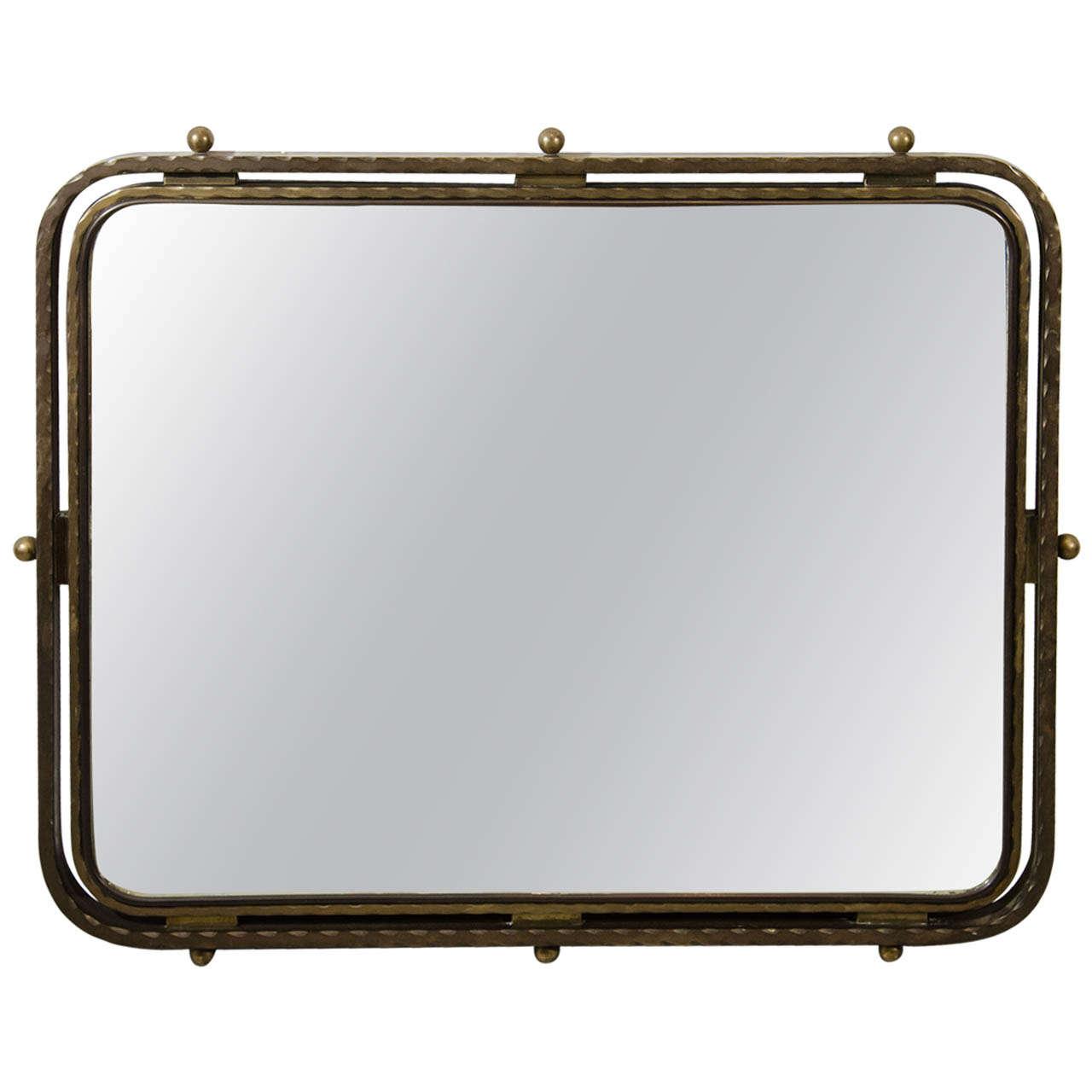 French bronze mirror for Bronze mirror