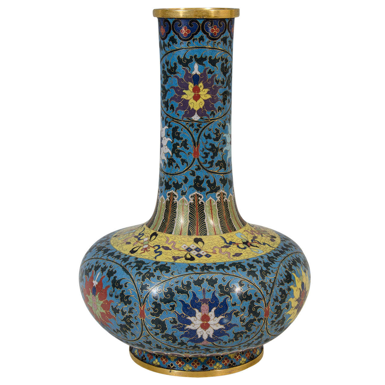 A 19th century large chinese cloisonne vase at 1stdibs a 19th century large chinese cloisonne vase for sale reviewsmspy
