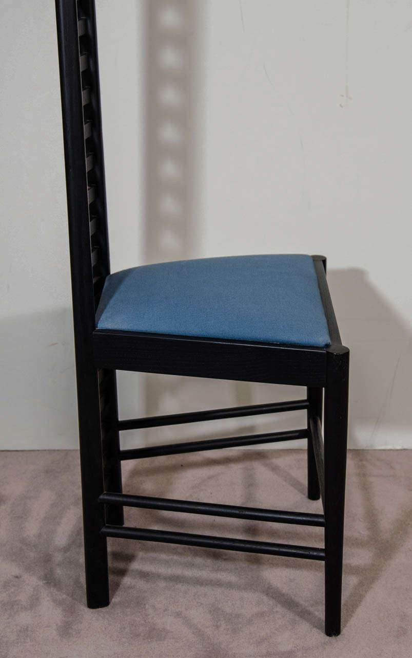 A Charles Rennie Mackintosh Hill House High Back Chair By Cassina At 1stdibs