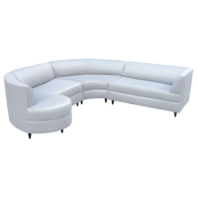 Spectacular Custom Sectional Sofa By Gilbert Rohde At 1stdibs