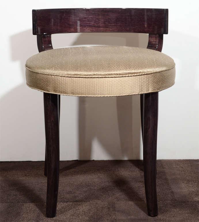 klismos stool ~ sophisticated modernist klismos stool at 1stdibs