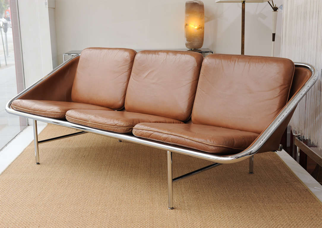 George Nelson design sling sofa for Herman Miller. Very good original condition.