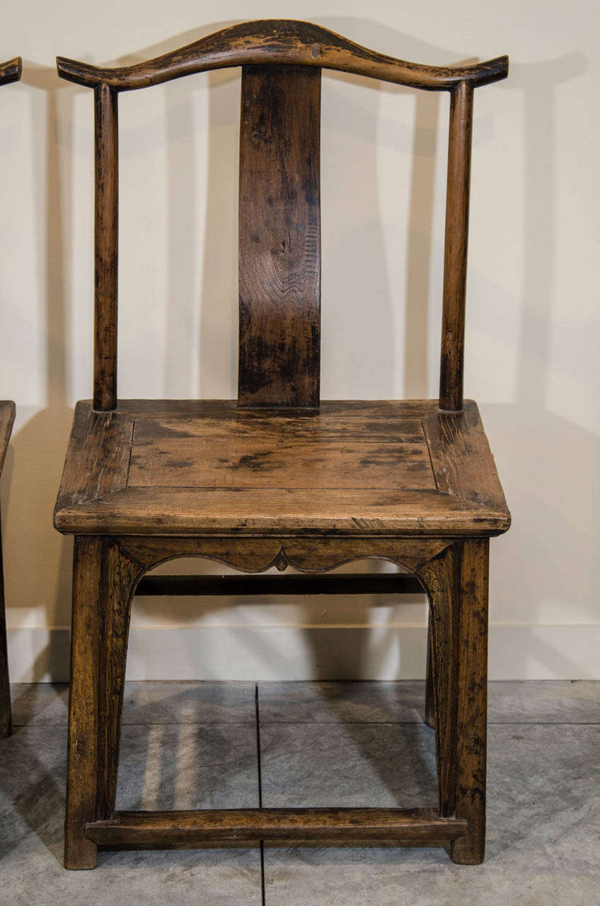 Antique Chinese Side Chairs In Good Condition For Sale In New York, NY - Antique Chinese Side Chairs At 1stdibs