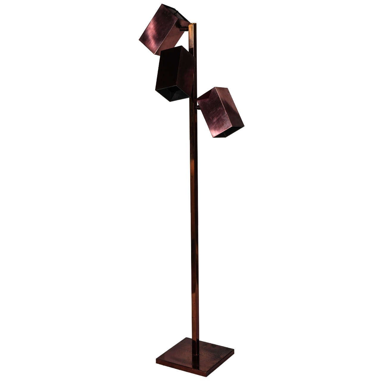 Midcentury Floor Lamp by Koch & Lowy