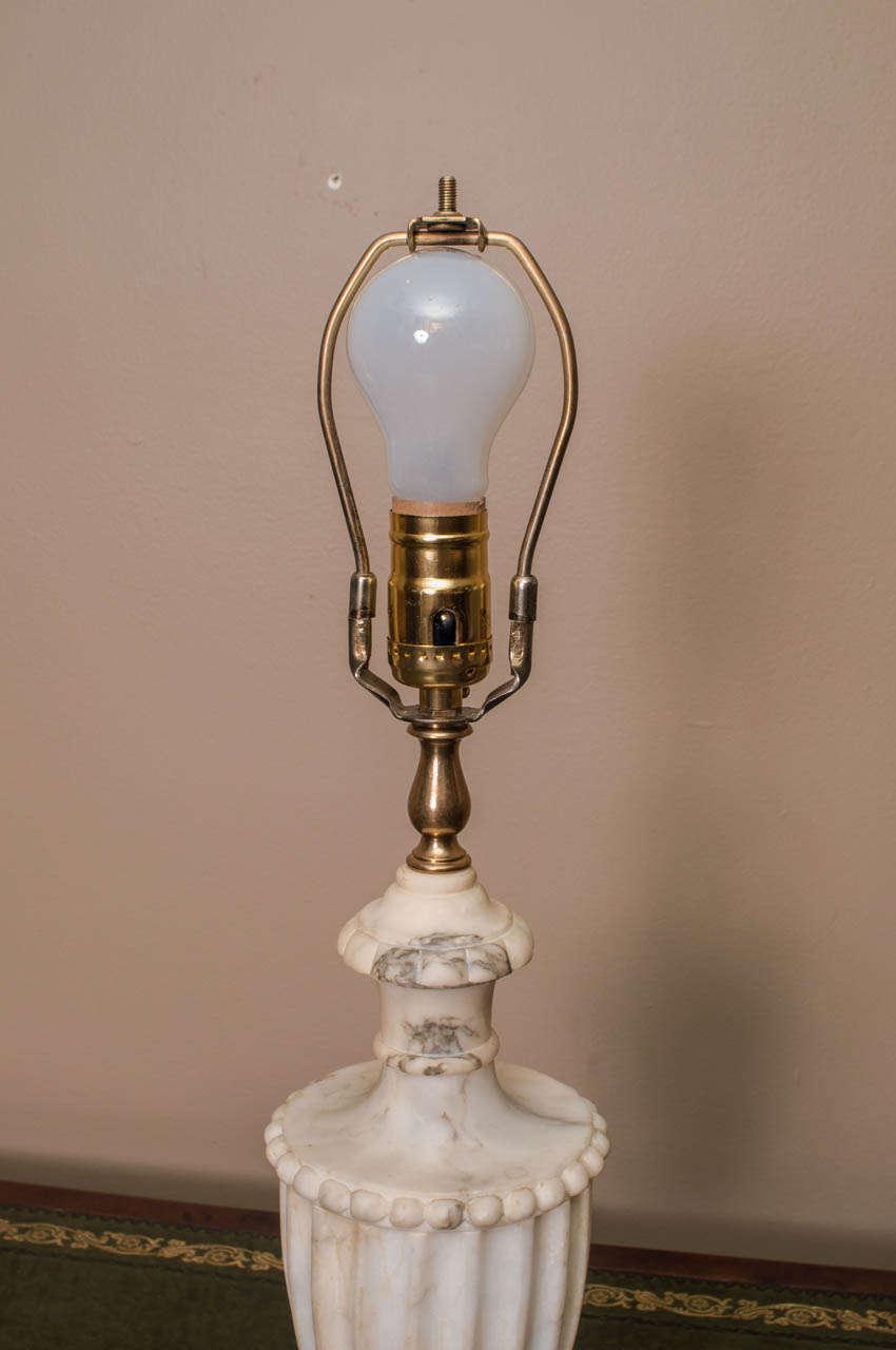 Vintage Marble Lamp At 1stdibs