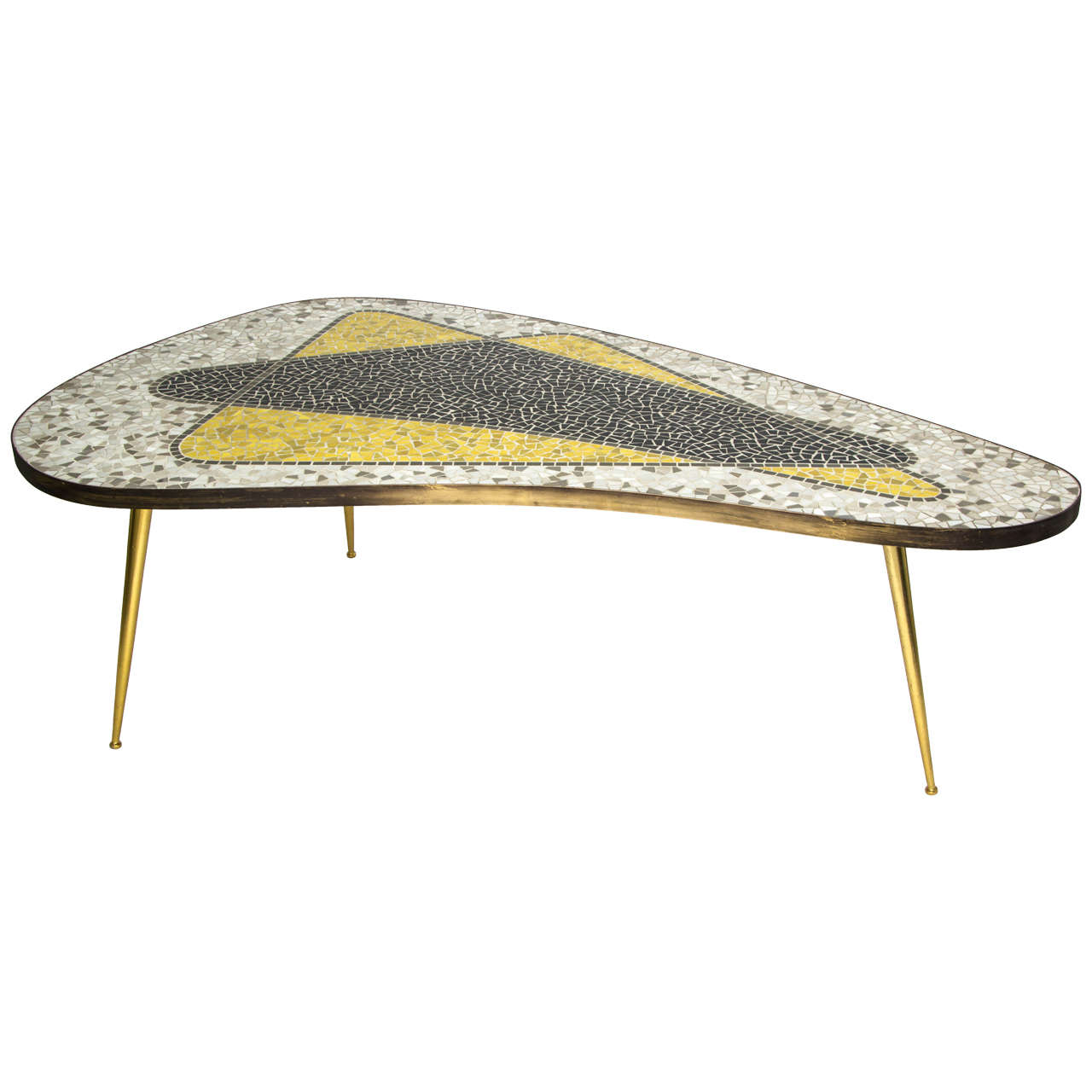 Mosaic Coffee Table Germany 1950s At 1stdibs