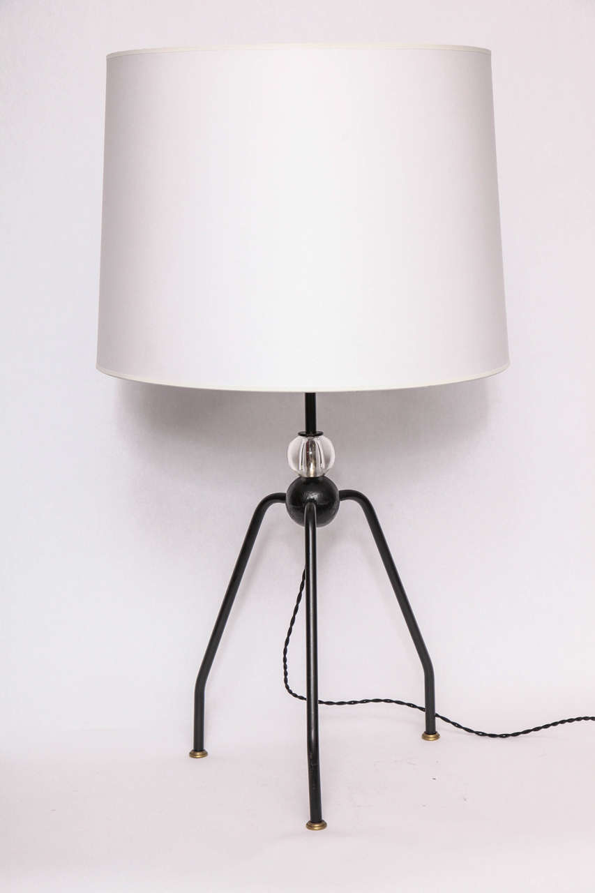 Table Lamps Art Moderne France 1940's For Sale 2