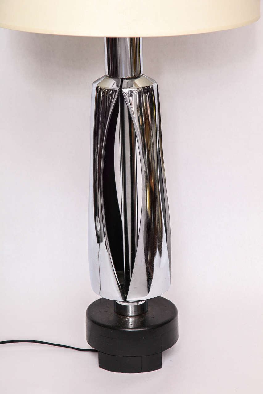 American Table Lamp Mid Century Modern Futuristic 1970's For Sale