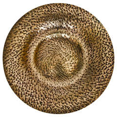 Decorative Art Deco Bronze Dish