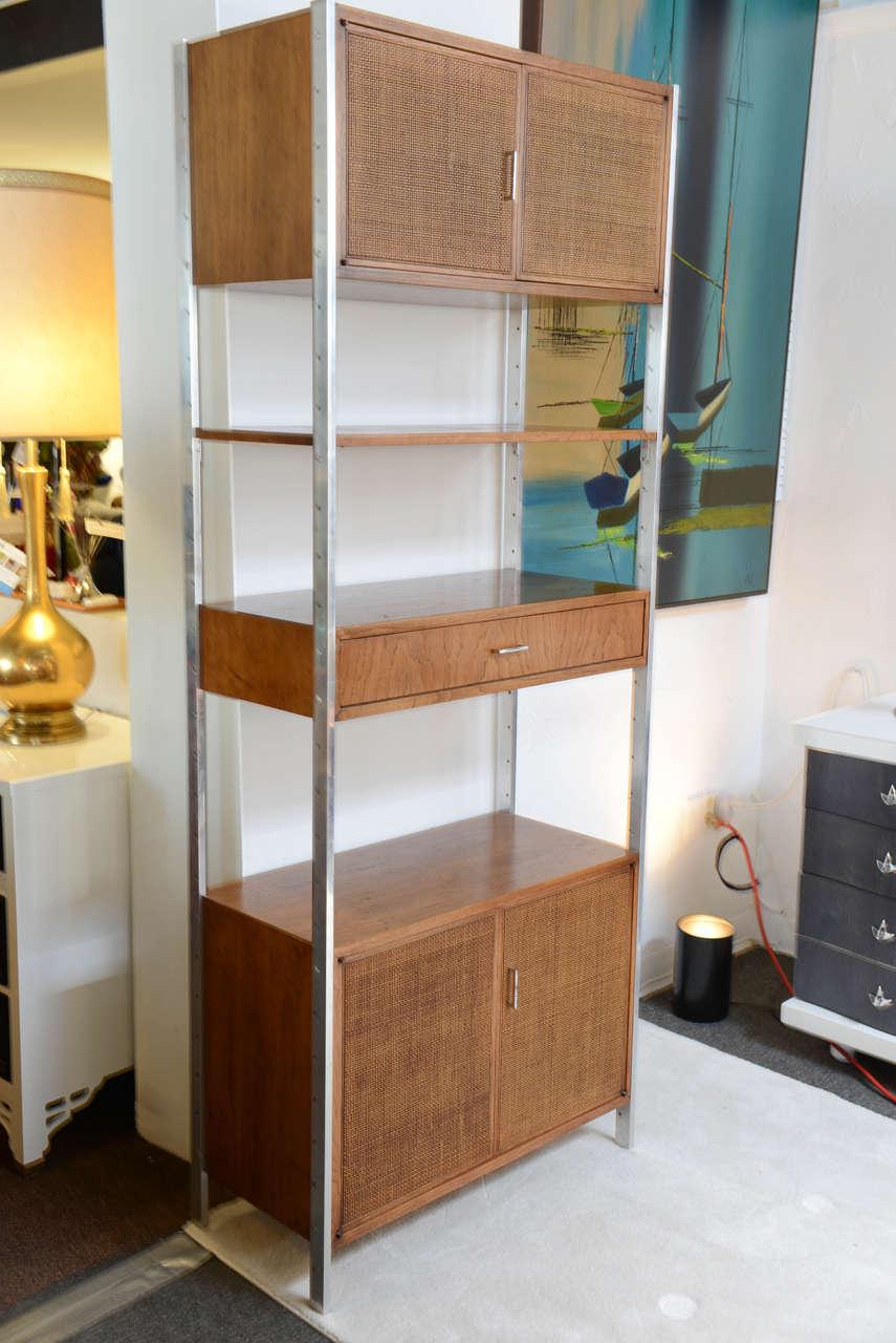 Tall Cabinet Freestanding Mid Century Eames Era At 1stdibs
