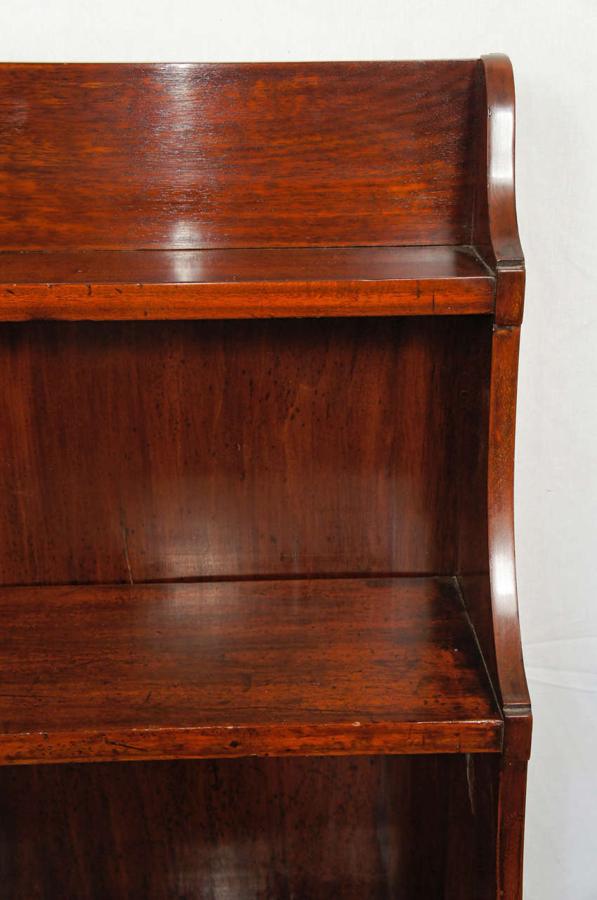 19th Century A Fine English Regency Metamorphic Book Case -Desk For Sale