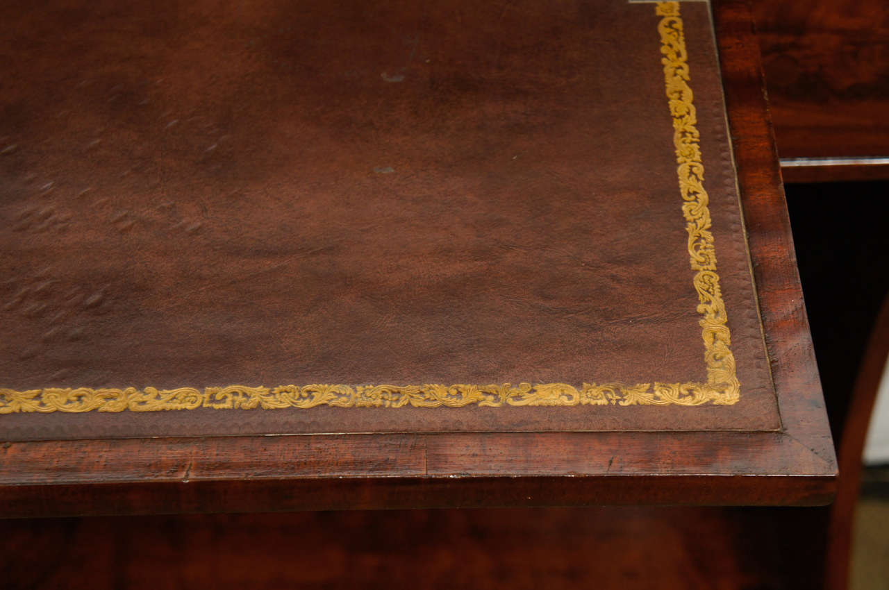 A Fine English Regency Metamorphic Book Case -Desk For Sale 1