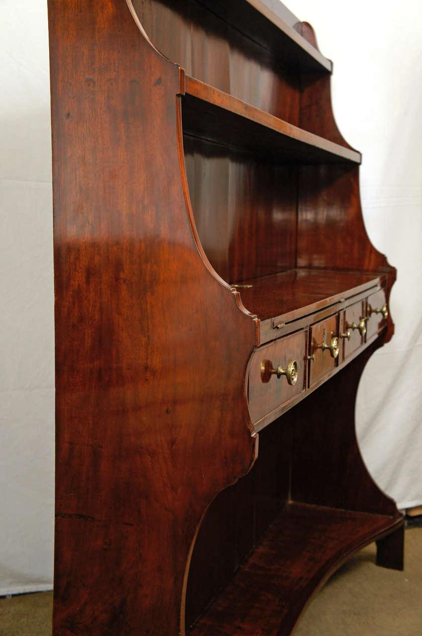 A Fine English Regency Metamorphic Book Case -Desk For Sale 4