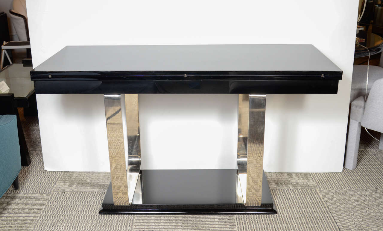 Dining table console table extends dining table - Goliath console dining table ...