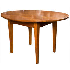 French, Cherry Drop-Leaf Table