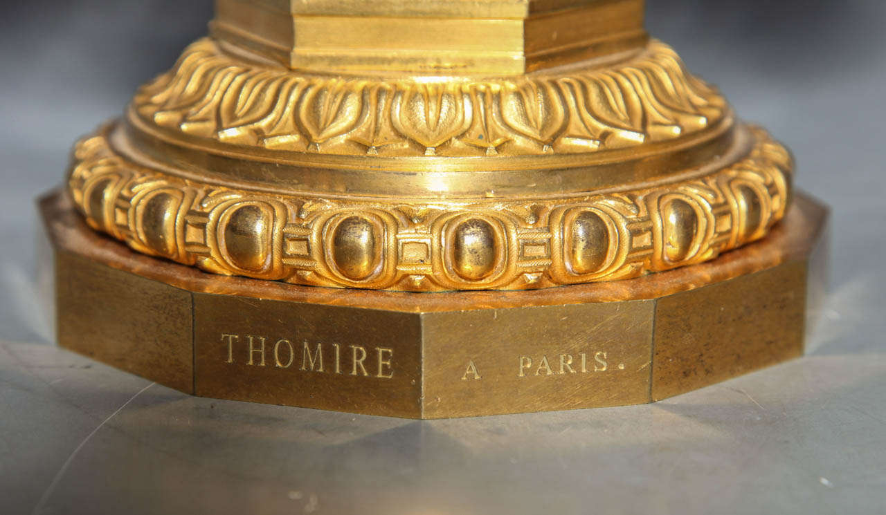 Pair of Antique French Two Tiered Tazzas or Centerpieces by P. Philippe Thomier For Sale 3