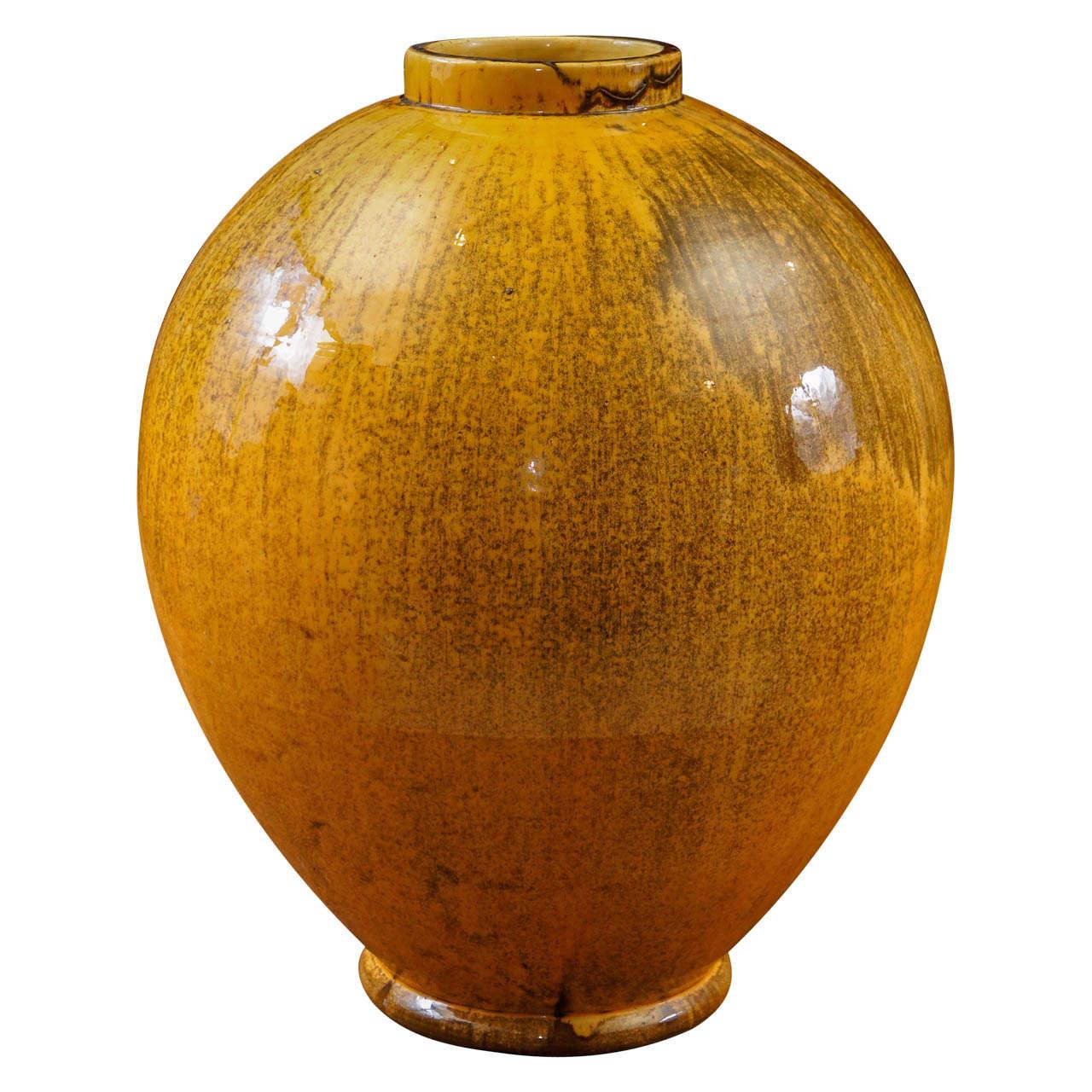 Large-Scale Kahler Vase by Svend Hammershøi