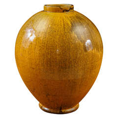 1920s Large-Scale Vase by Artist Svend Hammershøi for Kähler Pottery