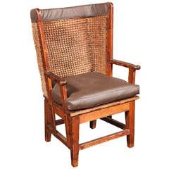 19th c. Scottish Child's Warming Chair