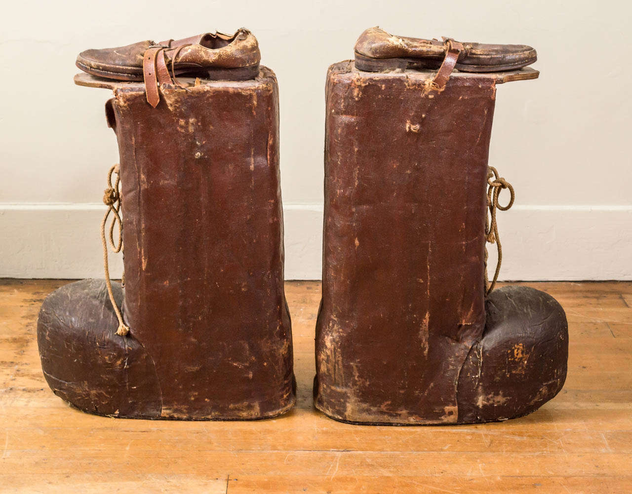 giant pair of carnival paul bunyan boots for sale at 1stdibs