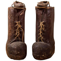 Giant Pair of Carnival Paul Bunyan Boots