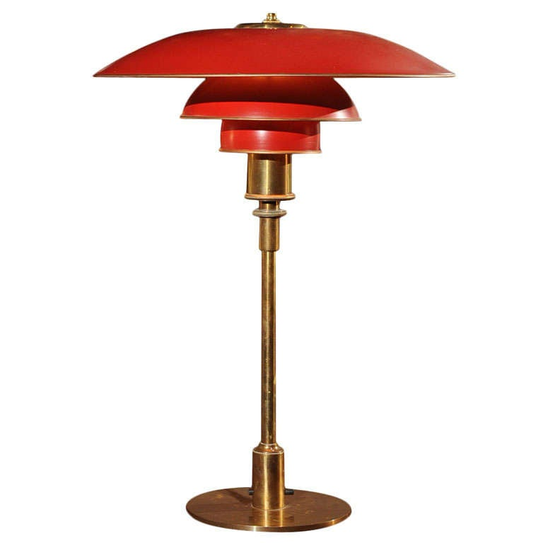 poul henningsen ph 4 3 lamp for sale at 1stdibs. Black Bedroom Furniture Sets. Home Design Ideas
