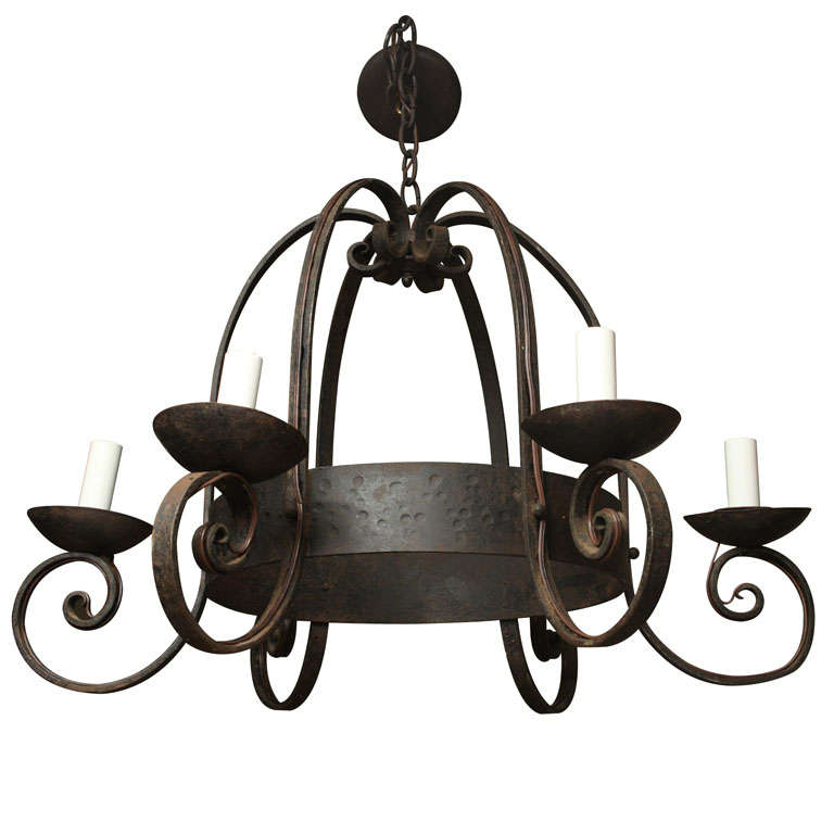view spanish wrought iron chandelier mission chandeliers cast all lighting tingligh