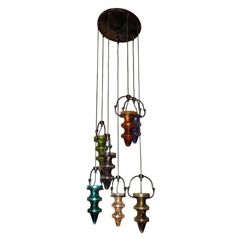 "pendant ""Stalactites"" by Nanny Still-McKinney for Raak Amsterdam"