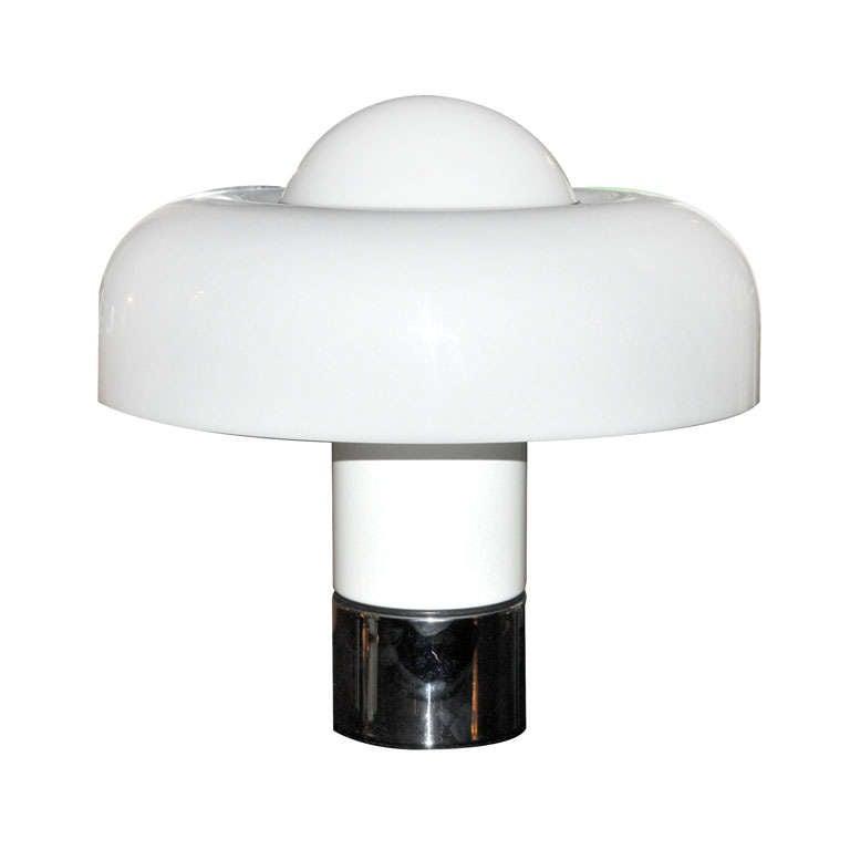 "2x (pair of) table lamp ""Brumbury"" by Luigi Massoni for Guzzini"