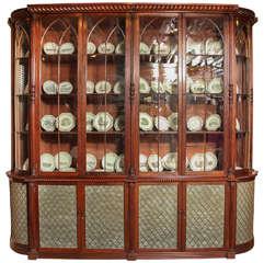 Exceptional Irish Regency Library Bookcase - Manner of Mack, Williams & Gibton