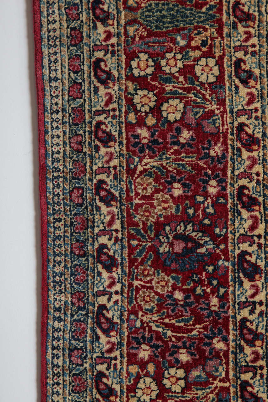 Persian Tehran Carpet with Tree of Life Design, circa 1900 For Sale 3