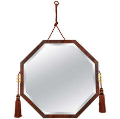 Awesome 1930s Mirror Attributed to Jean Pascaud