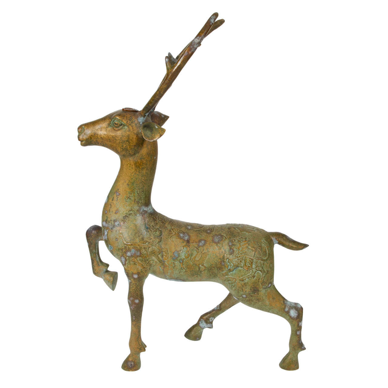 Bronze Deer Statue For Sale