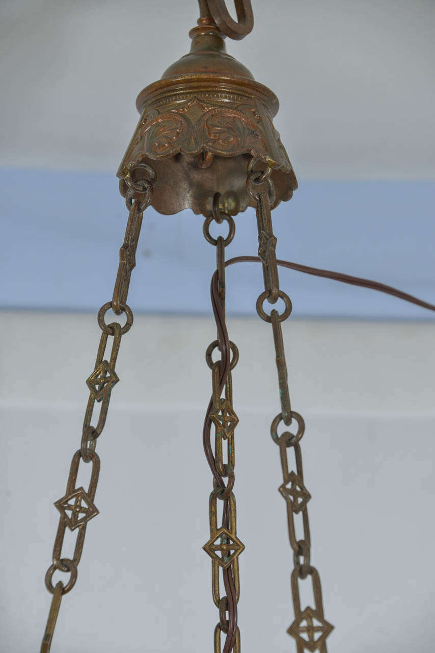 Pair Of Cast Bronze Ceremonial Lanterns For Sale At 1stdibs