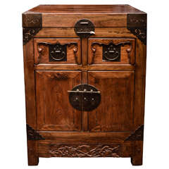 Turn of the Century Qing Dynasty Southern Elm Scholar's Cabinet