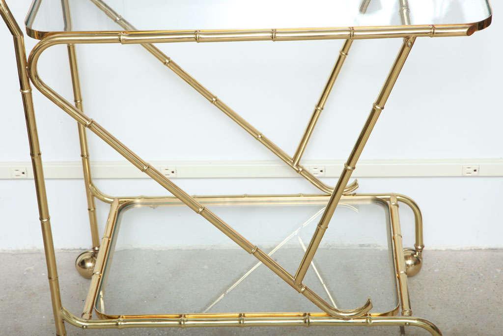 Faux Bamboo Tea Cart 3